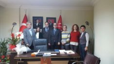 CHP Fatih İlçe Başkanı Dernek Üyemiz Soner ÖZİMER Ziyaretimiz