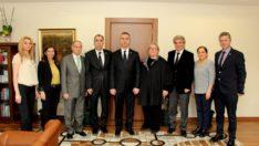 İstanbul Vergi Dairesi Başkanı Bekir Bayraktar Ziyareti