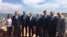 İstanbul YMM Odası Başkanı Sn. Vehbi Karabıyık Ziyareti
