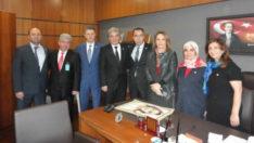 Ağrı M.Vekili Fatma Salman Ziyareti