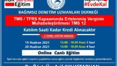 TMS/TFRS Kapsamında Ertelenmiş Verginin muhabeleştirilmesi TMS 12