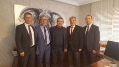 Ymm. Abdullah Tolu' yu Ankara Ofisinde Ziyaretimiz