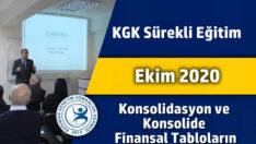 Konsolidasyon ve Konsolide Finansal Tabloların Hazırlanması